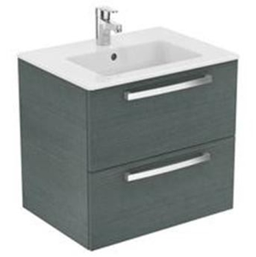 Imagine IDEAL STANDARD _ MOBILIER SUSPENDAT 60 CM, SANDY GREY OAK - TEMPO
