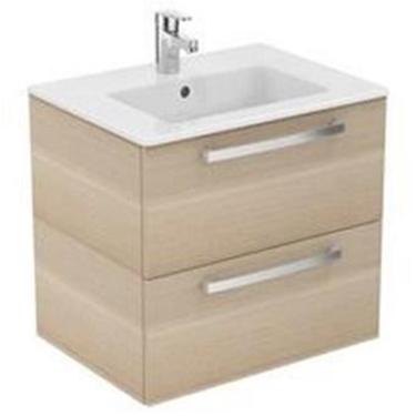 Imagine IDEAL STANDARD _ MOBILIER SUSPENDAT 60 CM, SANDY OAK - TEMPO