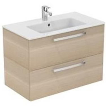 Imagine IDEAL STANDARD _ MOBILIER SUSPENDAT 80 CM, SANDY OAK - TEMPO