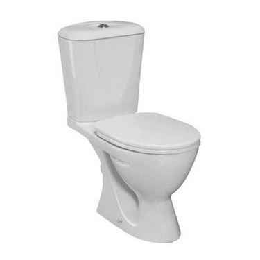 Imagine IDEAL STANDARD _ SET COMPLET WC  ECCO (VAS CISTERNA CAPAC SOFT CLOSE)