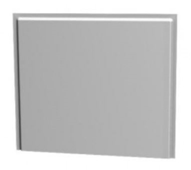 Imagine KOLO_UNI2 PANOU UNIVERSAL LATERAL 75 cm, waterproof MDF with PVC covering, white