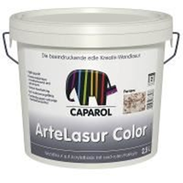 Imagine CAPAROL- CAPADECOR ARTE-LASUR COLOR LIVORNO 2,5 LTR.