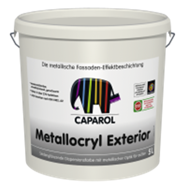 Imagine CAPAROL- CAPADECOR METALLOCRYL EXTERIOR 5 LTR.