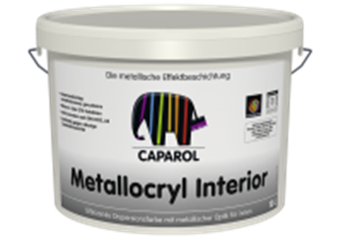 Imagine CAPAROL- CAPADECOR METALLOCRYL INTERIOR 2,5 LTR.