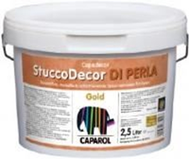 Imagine CAPAROL- EXL CD STUCCO DI PERLA GOLD 2.5 LT