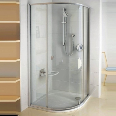 Imagine Ravak Cabina de dus PSKK3-100 satin+sticla Transparent