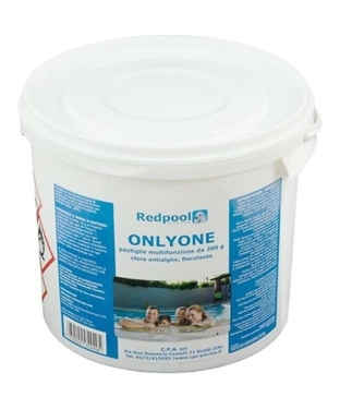 Imagine Tableta Clor+Antialge+Floculant. 3 in 1   ,5kg- Onlyone